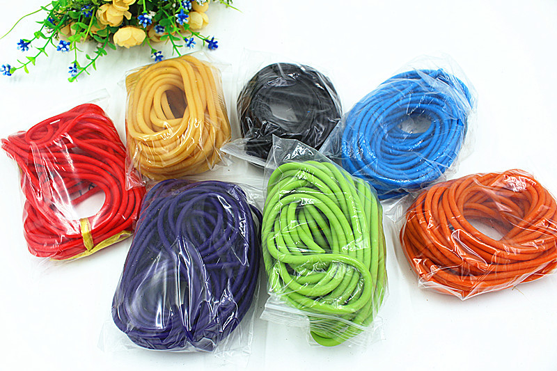 10M Packed Size 3060  Natural Rubber Band Latex Tube Pull Rope The Latex Tubes Tourniquet Rope Elastic Rope