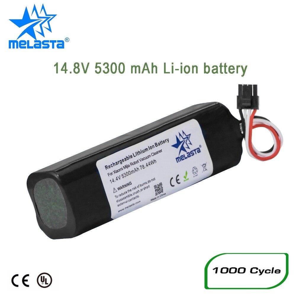 Rechargeable 5300 mAh Li-ion batterie lithium-ion pour xiaomi mi jia robot aspirateur xiaomi mi robot 2nd roborock S50 S51 S55