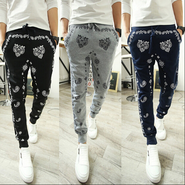 Online Shop 2015 Casual Pants New Style Fashion Skinny Sweatpants ...