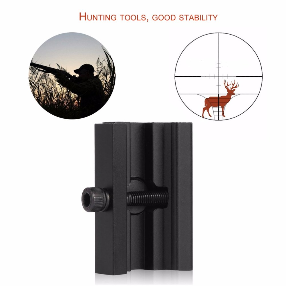 Sling Swivel Stud Adapter Weaver/Picatinny Airsoft Tactical Rail Harris Style Rifle Bipod Mount Hunting Outdoor Sports Mount