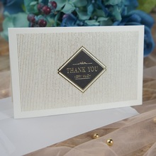 multi-use 25pcs gold thank you so much Card with envelope Scrapbooking party invitation DIY Decor gift card