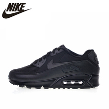 online retailer dbddf bd4bb Original Authentic Nike Air Max 90 Essential Men s Running Shoes Sport  Outdoor Breathable Sneakers 2018 New