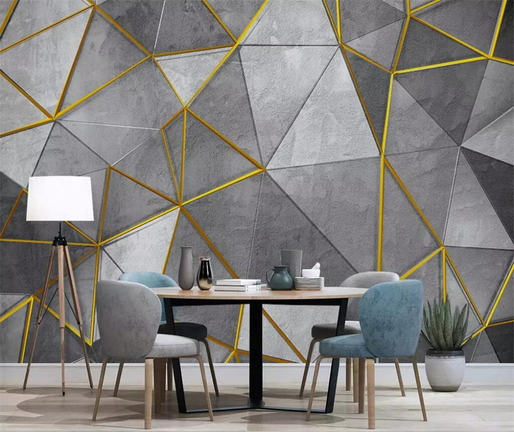 Beibehang Custom Wallpaper 3d Photo Mural Nordic Modern
