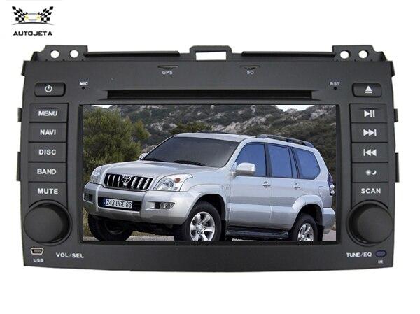 """4 Ui Intereface Gecombineerd In Een Systeem 8 """"auto Dvd-speler Voor Toyota Prado 2002 2003 2004 2005 2006 2007 2008 2009 Bluetooth Gps"""