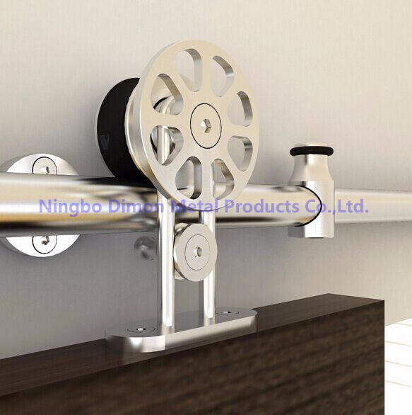 Free Shipping Dimon Hot Sell High Quality SUS304 Door Sliding Hardware DM-SDS 7104 Without Sliding Rail