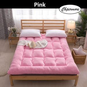 Image 4 - Chpermore Thicken Lamb cashmere Mattress Single double Student Mattresses Foldable Tatami Cotton Cover King Queen Size