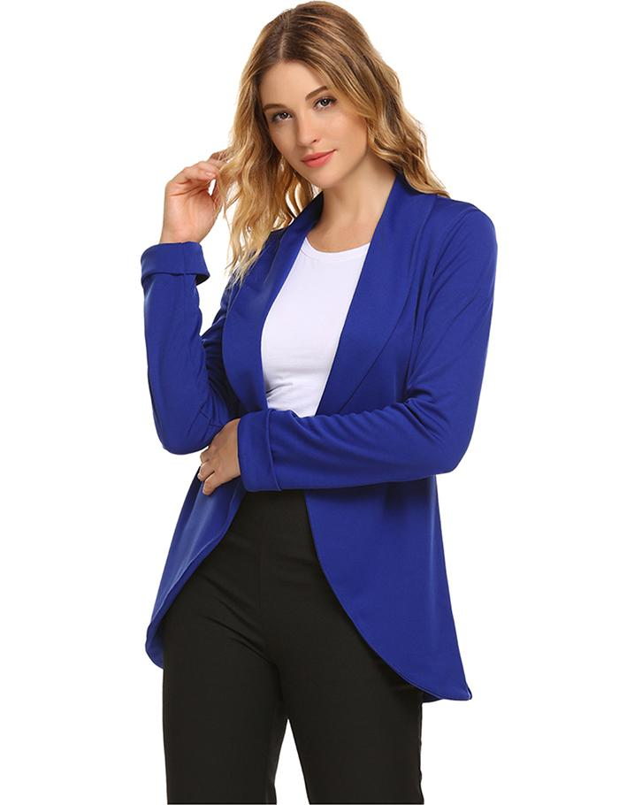 Zipper Long Turn Women Sleeve Casual Jacket Spring Fashion Autumn Bridge Printing Black Down Collar Regular Women's Clothing
