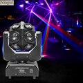 12x10 Вт RGBW 4в1 светодиодный головной движущийся свет  светодиодный фонарик в виде футбольного мяча  DMX512 светодиодный луч эффект вращается сце...