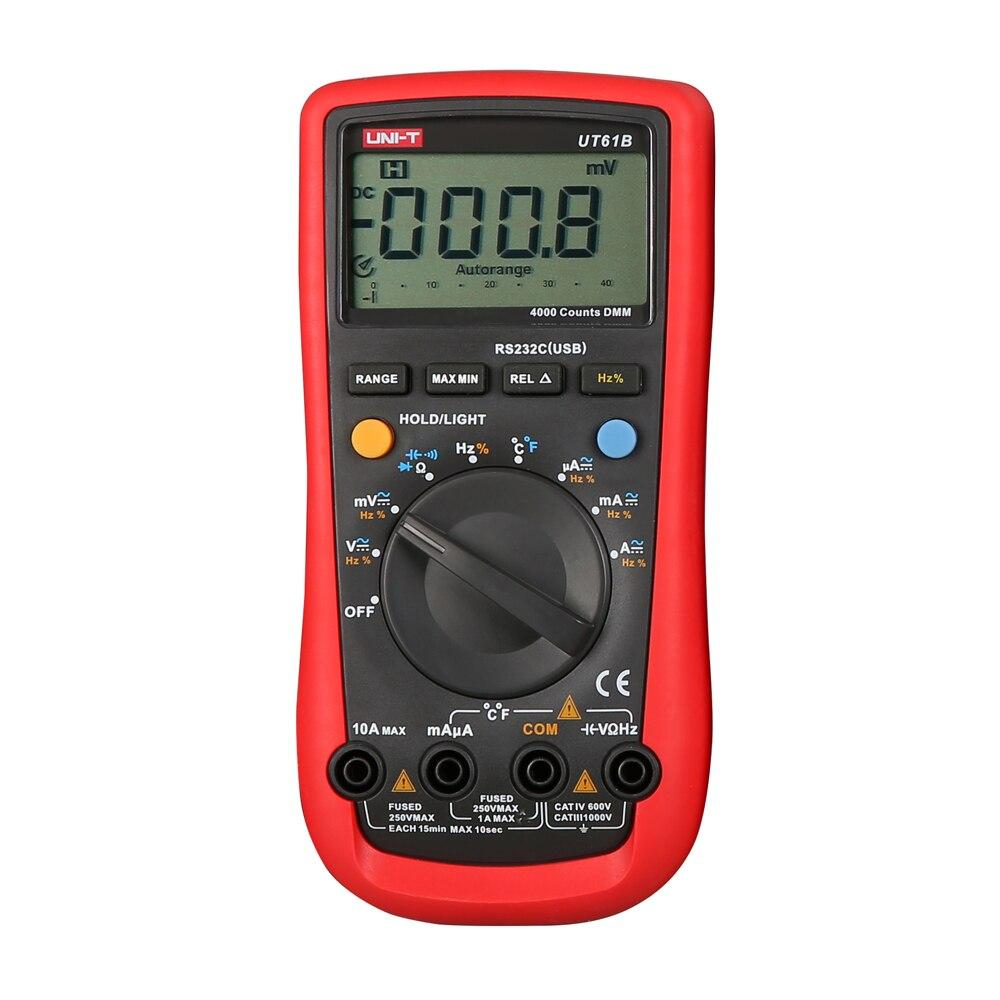 UNI-T UT61B Современный цифровой мультиметр UT61B AC/DC метр