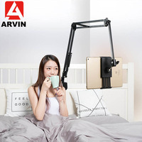ARVIN Adjustable Tablet Holder Stand For IPad Air Mini Pro 3.5 10.6 Inch Flexible Rotating Lounger Bed Desktop Mount For iPhone