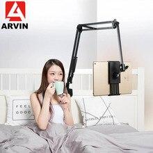 ARVIN support réglable de tablette pour IPad Air Mini Pro de 3.5 à 10.6 pouces, support de lit rotatif Flexible pour iPhone