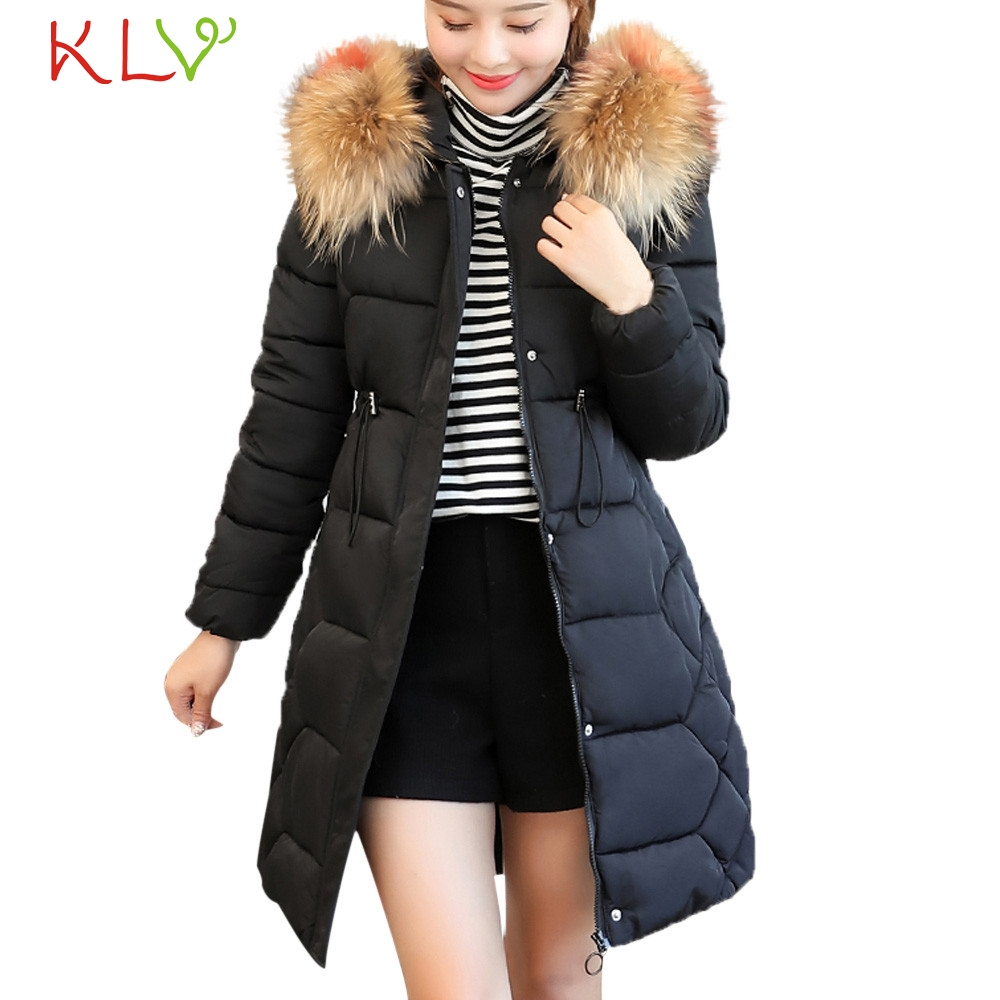 Women Jacket Winter Thick Fur Cotton Parka Parka Warm Long 2018 Plus Size Ladies Chamarra Cazadora Mujer Coat For Girls 18Oct24