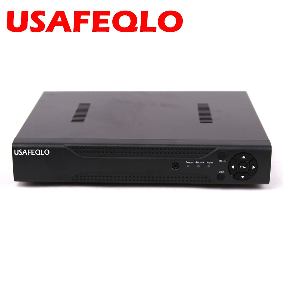 4 8CH 1080P AHD DVR for AHD NH M 960H IP camera ONVIF NVR 8Channel for