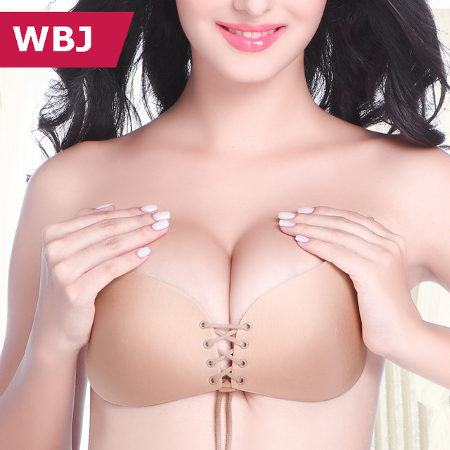 20ae6f24d8b01 Seamless Nubra Beige   Black Fantastic Strapless   Backless Invisible Push  Up Bra  Pack of 2 pcs - Buy 1 Get 1 FREE  B003