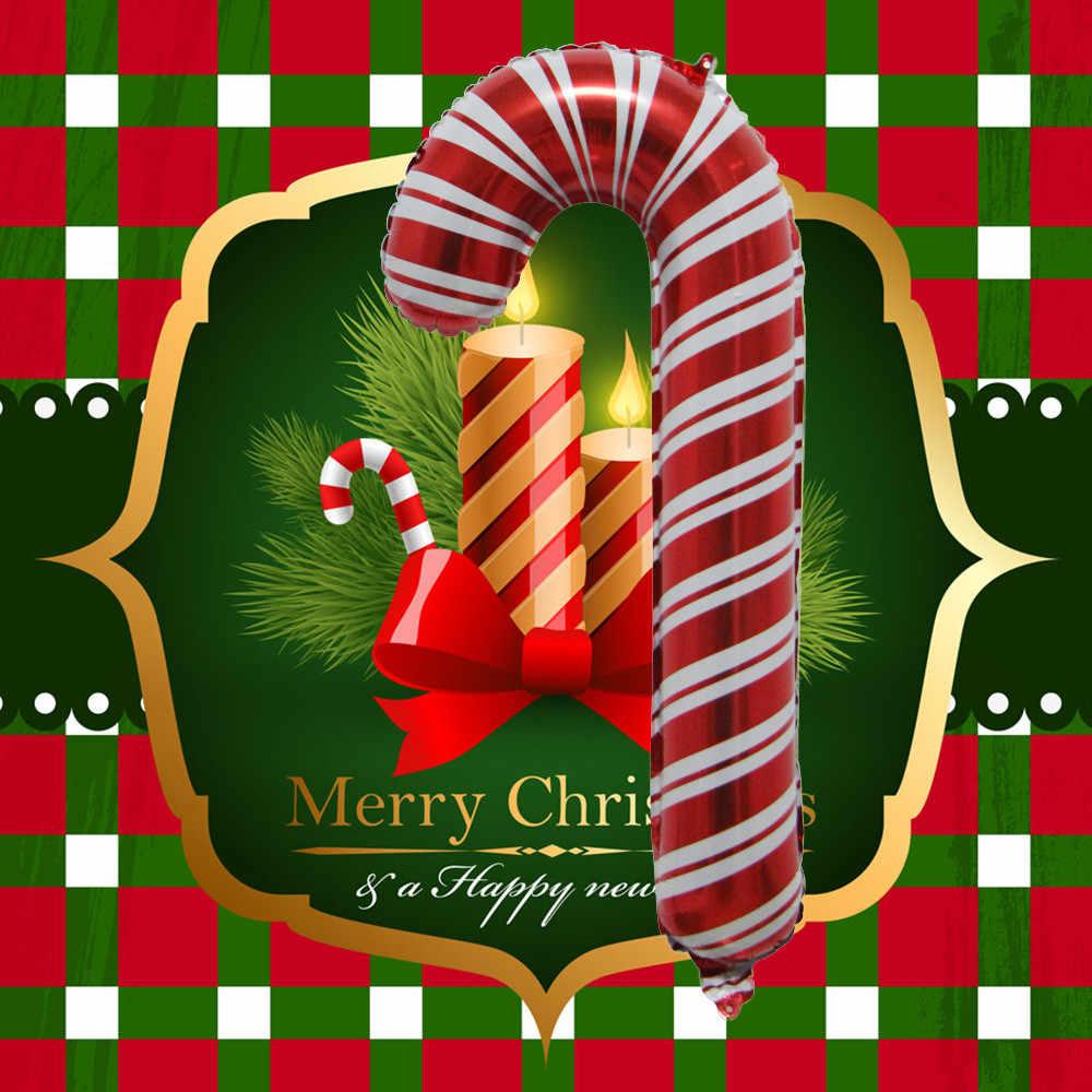 Festa de Ano novo Decoração do Boneco de neve de Papai Noel Bengala Decoracao de Festa festa pocoyo Y
