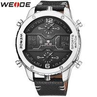 WEIDE Classic Brand Men Watches Genuine Luxury Brand New Watch Quartz Men Clock Outdoor Sport Watches Date Week Display Clock