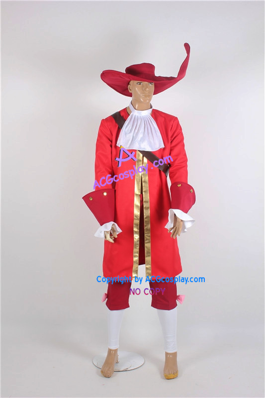 Captain Hook kostým cosplay