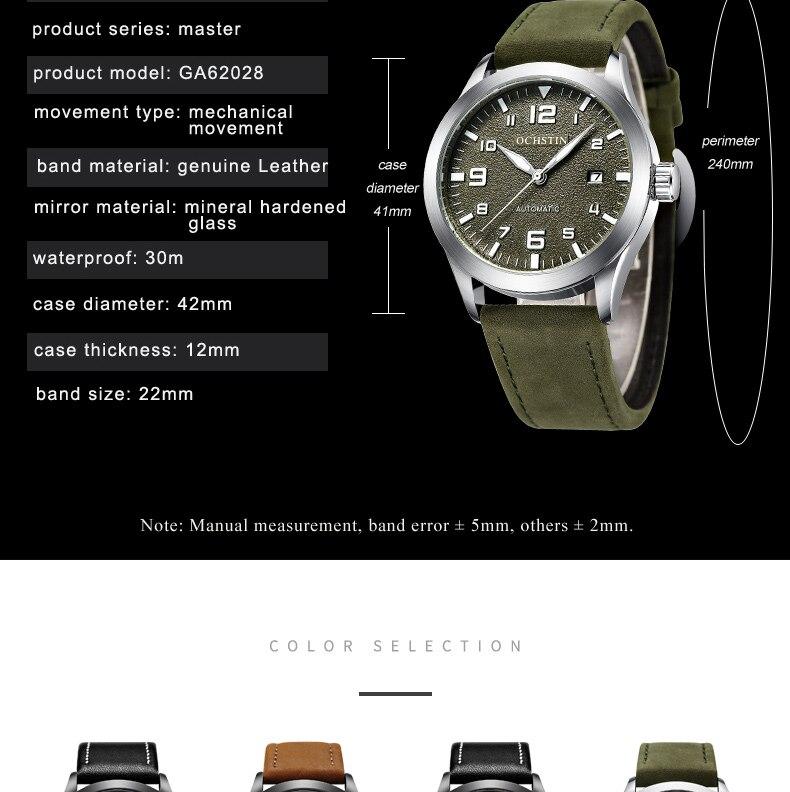 HTB1BOo0biLrK1Rjy1zdq6ynnpXa7 Top Brand OCHSTIN Tourbillon Automatic Watch Men Waterproof Date Sport Men Leather Mechanical Wrist Watch Male Clock Fashion