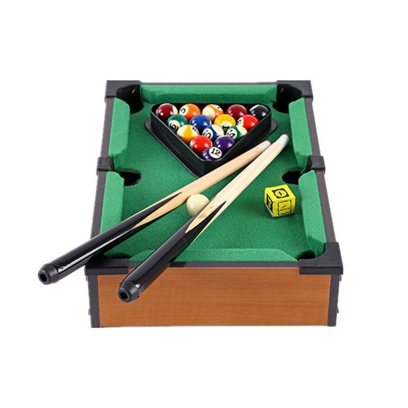 New Mini Billiards Table Game Toy Kids Accessories Board Games Set Parent  Child Educational Toys Home Christmas & Birthday Gift-in Toy Sports from  Toys ...