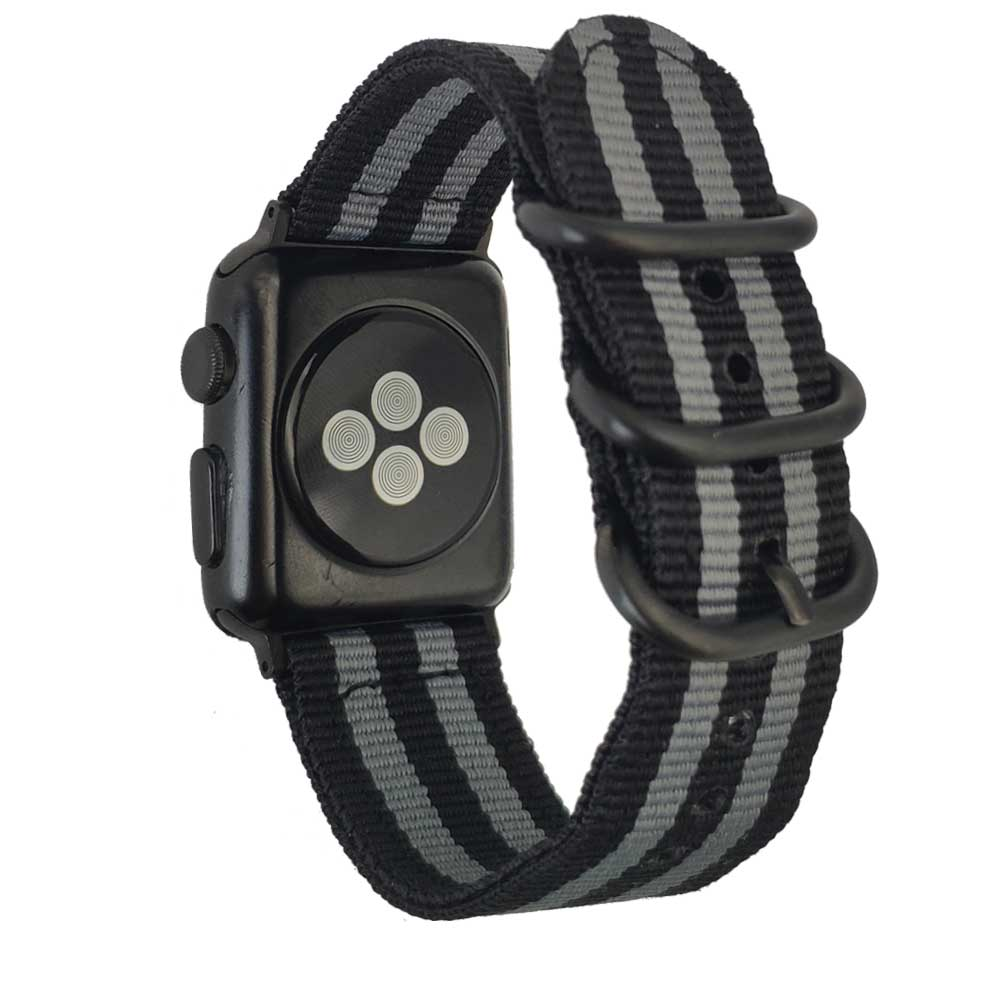 Colorful Watch band for NATO Apple Watch Nylon strap 42mm 38mm fabric-like strap iwatch 3/2/1 wrist band nylon watchbands nato nylon watchbands for apple watch band 42mm 38mm iwatch strap series 1