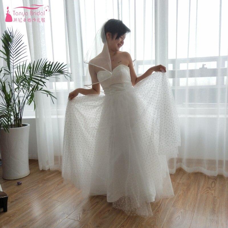 Aliexpress.com : Buy Point Tulle Wedding Dresses 2018
