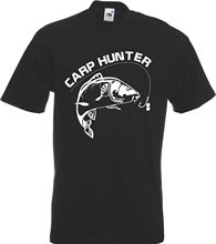 Carp Hunter  Fisherman T-Shirt Angler Gift Adult Fish Coarse New T Shirts Funny Tops Tee Unisex Black Style