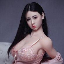 168cm Sex Dolts Echt Silikon Sex Puppen für Mann Lebensechte Realistische Big Brust Masturbator Japanese Sex Puppe Vagina
