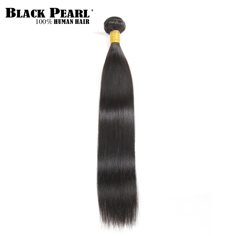 Amicable Black Pearl Pre-colored Brazilian Straight Human Hair Bulk For Braiding 1 Bundle Remy Bulk Hair Braids Hair Extension Deal Hair Weaves