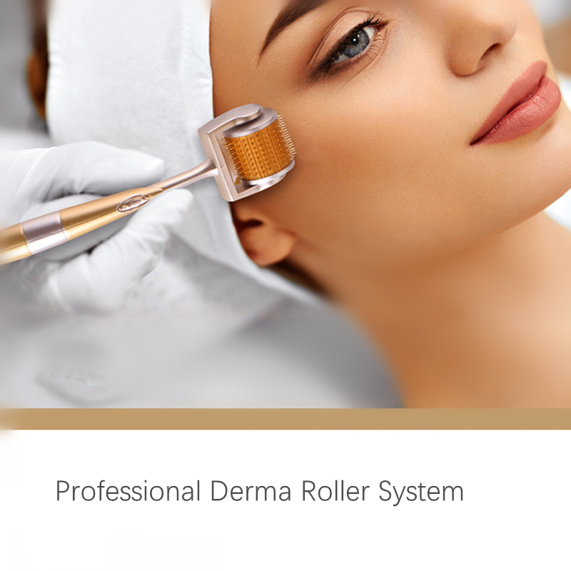 DRS 196 Derma Roller 0.25mm Titanium Microneedle Roller for Face Microdermabrasion Facial Roller Microneedling DermarollerDRS 196 Derma Roller 0.25mm Titanium Microneedle Roller for Face Microdermabrasion Facial Roller Microneedling Dermaroller