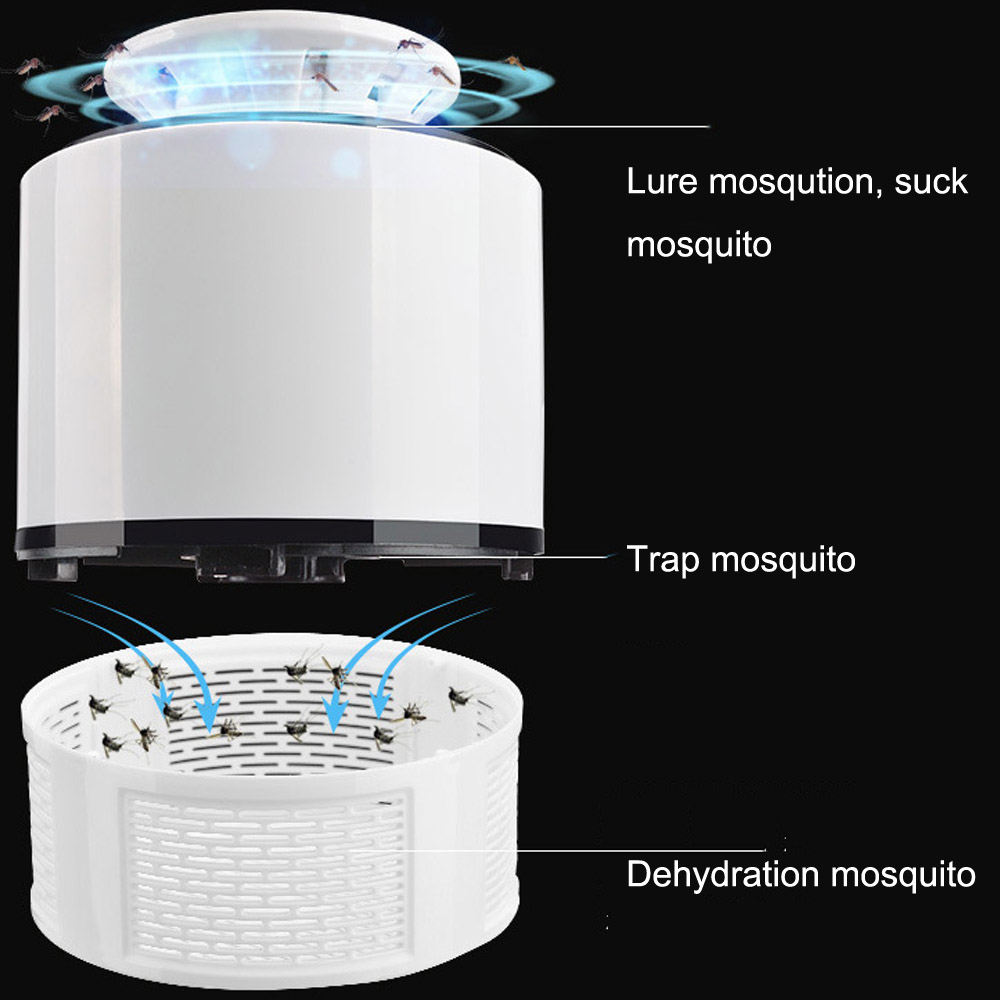 ETONTECK Mosquito Killer Lamp with USB Charger and LED for Bedroom and Hall 4