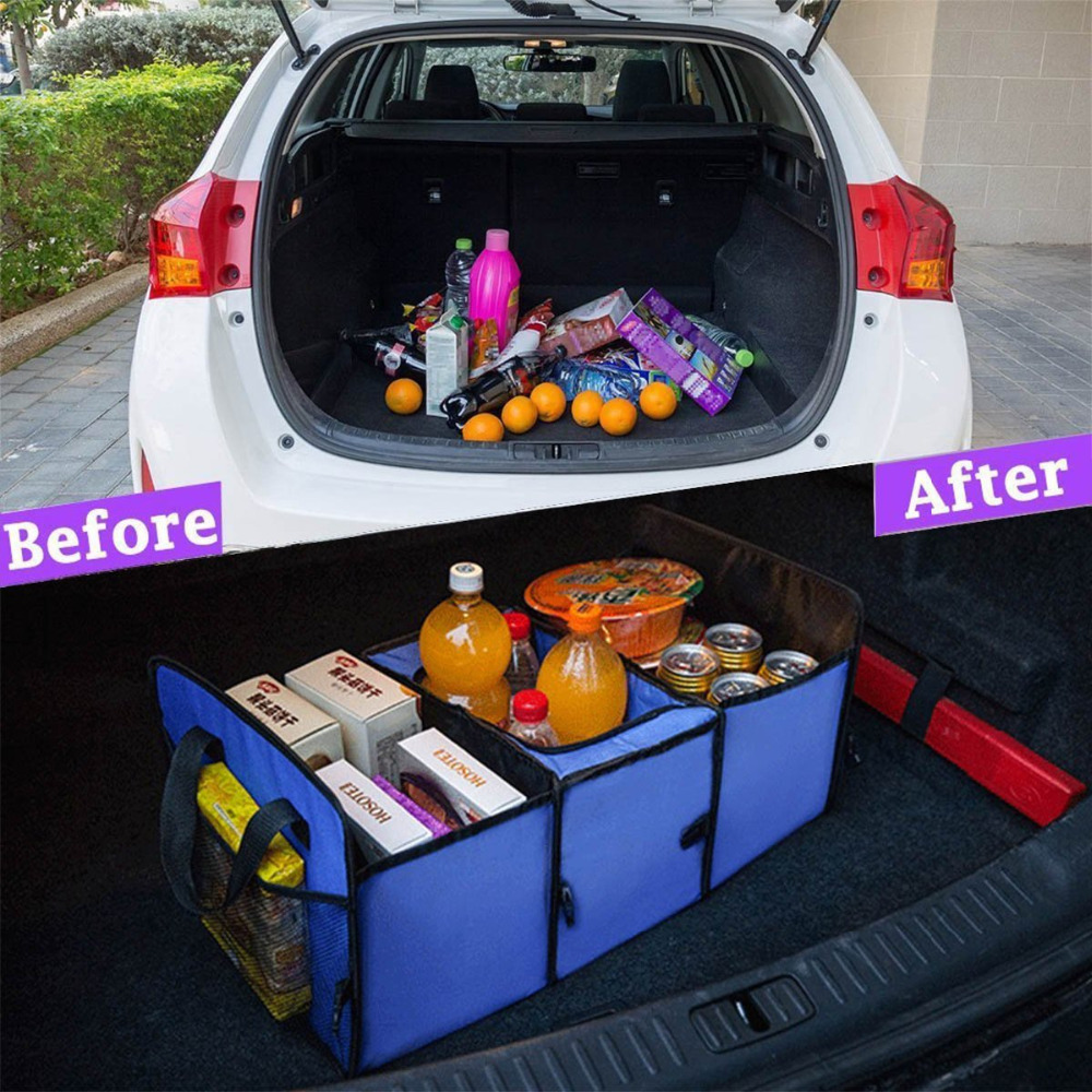Car truck van suv storage basket trunk organizer and cooler set car truck van suv storage basket trunk organizer and cooler set foldable multi compartment fabric hippo car trunk organizer in stowing tidying from solutioingenieria Image collections