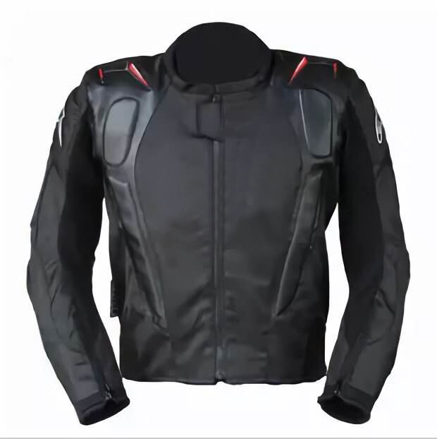 High Quality!Motocross Downhill Bike Riding Motorcycle Men's Black Jacket Touring Clothing With Protector(China)
