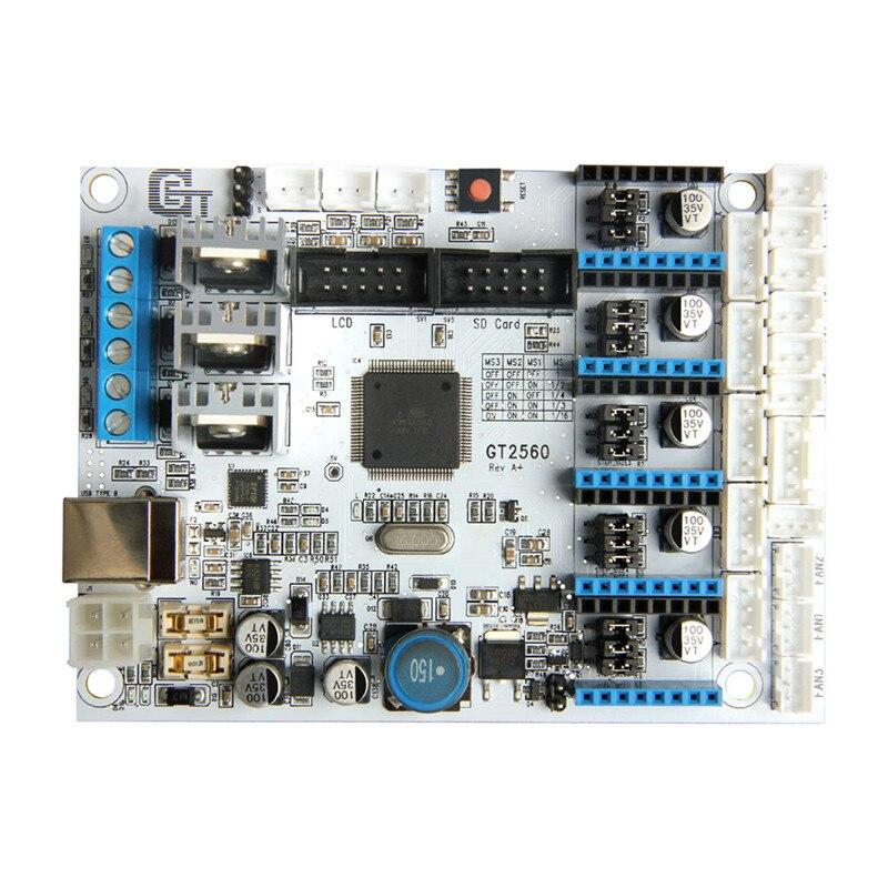 Durable Qualité GT2560 3D Imprimante Carte Contrôleur Compatible Pour Arduino Mega2560 Ultimaker