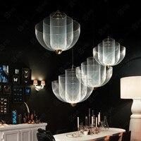 Modern Metal grid light Pendant Lights 3 Layer LED Lamps Suspension Lamp Nordic Restaurant Bar Cafe Store Pendant Lighting H045