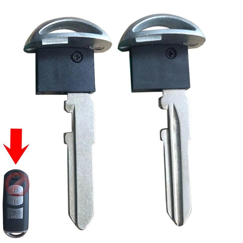 Uncut Prox Remote Emergency Key Blade For Mazda 3 6 CX-5 CX-7 CX-9 MX-5 Brand New Small Key Blade