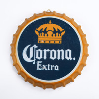 Tin Sign Imperial crown Vintage Metal Painting Beer cap Bar pub Hanging Ornaments Wallpaper Decor Retro Mural Poster Craft