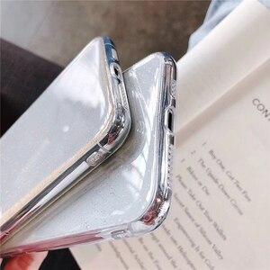 Image 4 - Новый Блестящий Прозрачный чехол Eqvvol для iPhone 7 8 Plus 6 6s, мягкие зеркальные чехлы из ТПУ для iPhone X XS MAX XR, Ультратонкий чехол