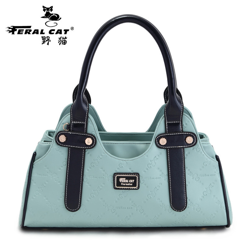 ФОТО Women Handbag Women's Boston Bag 2017 Designer Famous Brand Green High Quality Top Handle Barrel Bags Free Shipping 3002