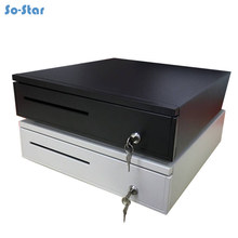 So star POS Cash Register Drawer Five Grids Three Section Cashbox with RJ11 Interface