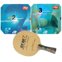 Pro Table Tennis Ping Pong Combo Racket DHS POWER G7 NEO Hurricane2 NEO Hurricane3