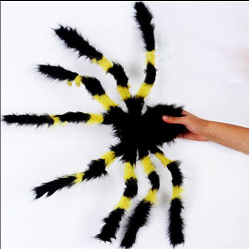 New Hot Halloween Big Horrible Furry Fake Spider Size 30Cm -3467