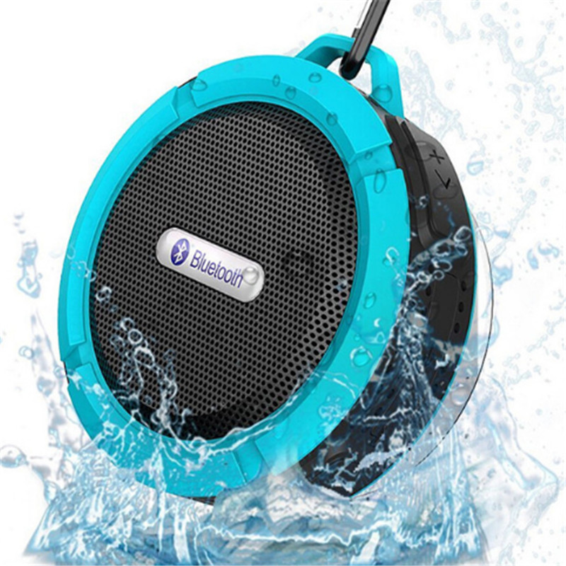 C6 Waterproof Portable Wireless Mini Bluetooth Speaker Subwoofer Outdoor Sports Music Player For Xiaomi Iphone Support FM TF