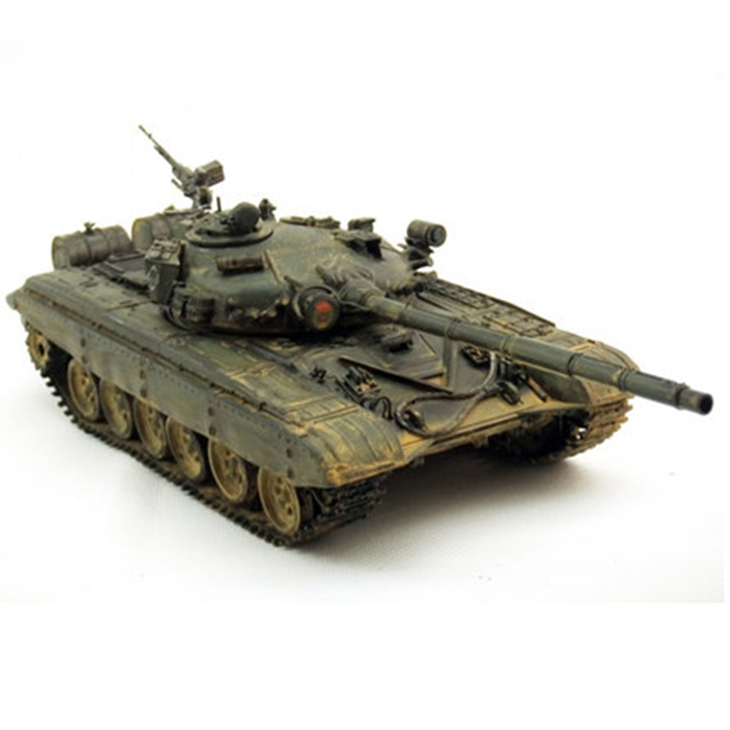 1/35 Scale Soviet Main Battle Tank T-72B WWII Army Tank Model Puzzle Military Model Building Kits Kids Toys Gift 21st century 1 32 scale diecast tank model toys wwii germany marder iii msd kfz 139 artillery gun tank kids model toys collect