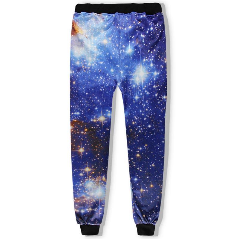 2017 Headbook Space Galaxy Hoodies Sets Men/Women 3d Sweatshirts Pant Print Stars Sky Fashion Hooded Hoodies