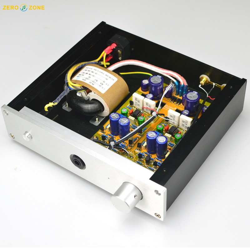 HV11 Class A Fully discrete unfeedback direct couple Stereo headphone amplifier