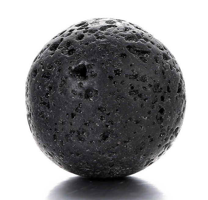 SHIYING pequeno (um 12mm preto lava pedra + 2 bola macia) 1 pc Misturado Aromaterapia colar de coração Medalhão Pingentes Gaiola Do Vintage