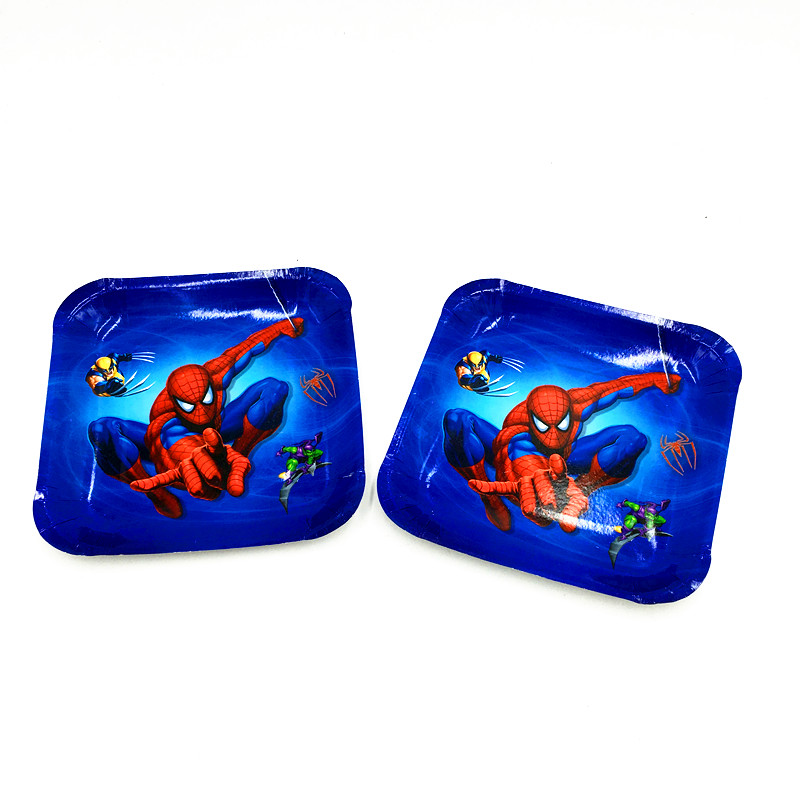 10PCS/LOT SPIDERMAN SQUARE PLATES SPIDERMAN SQUARE DISHES KIDS PARTY FAVORS BIRTHDAY PARTY SUPPLIES SPIDERMAN  sc 1 st  AliExpress.com & 10PCS/LOT SPIDER MAN PLATES SPIDERMAN DISHES KIDS BIRTHDAY PARTY ...