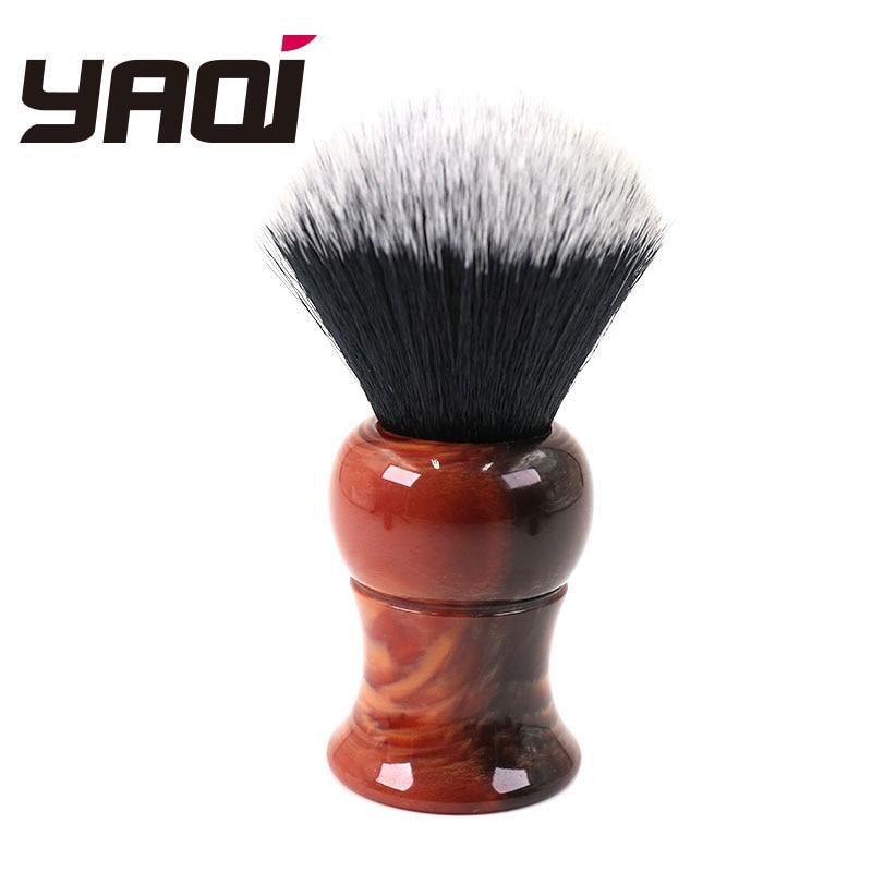 Yaqi Big Size 26mm Men's Shaving Brush With Resin Handle Tuxedo Knot For Men
