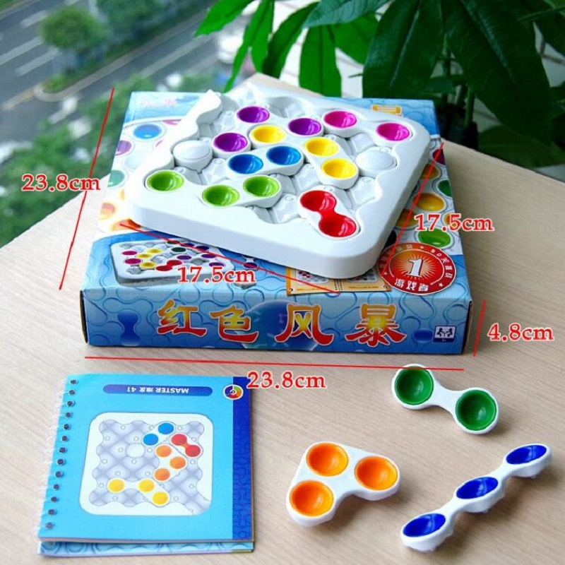 Fly AC Classic Intelligence Labyrinth Huarong Road Educational Toys Logic Thinking Reasoning Family Party Game