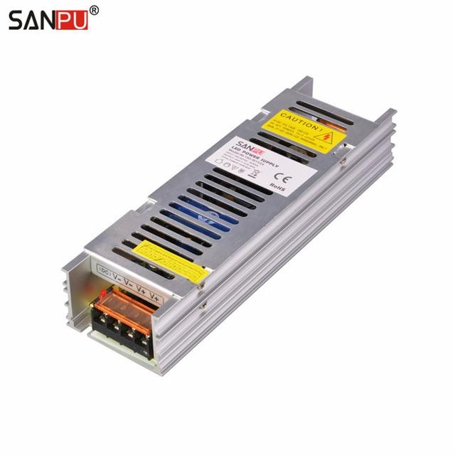 SANPU SMPS Transformer 110V 220V 24V 150W 6A Constant Voltage Single ...